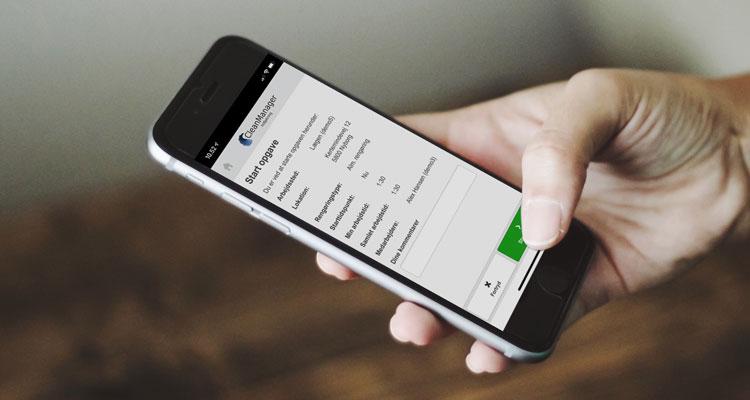 Nøjagtig tidsregistrering med ny app til rengøringsbranchen