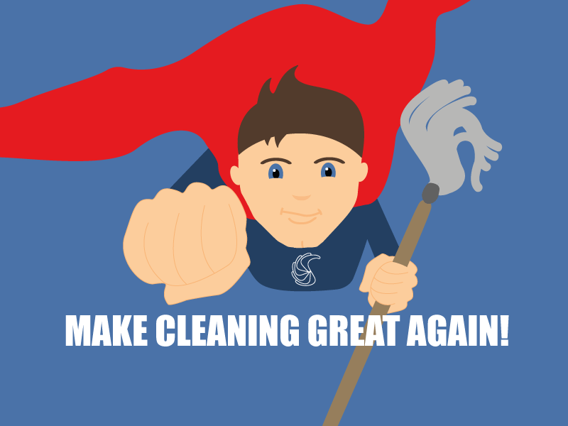 Make cleaning great again…