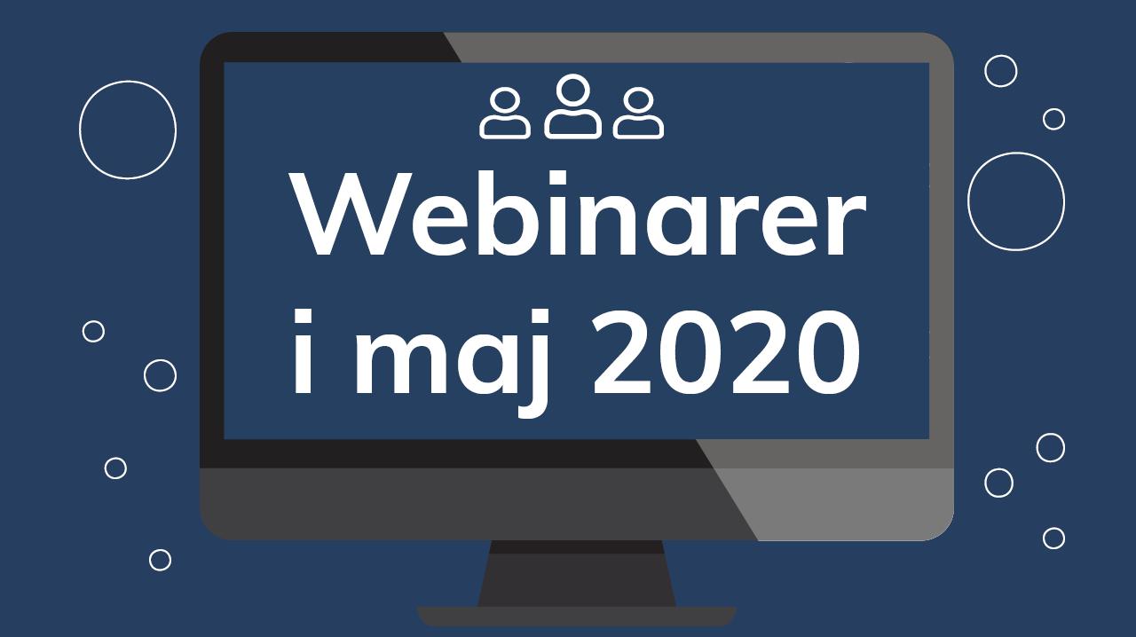 CleanManager afholder webinarer i maj