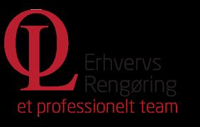 OL Erhvervsrengøring logo