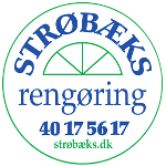 Strøbæks Rengøring logo