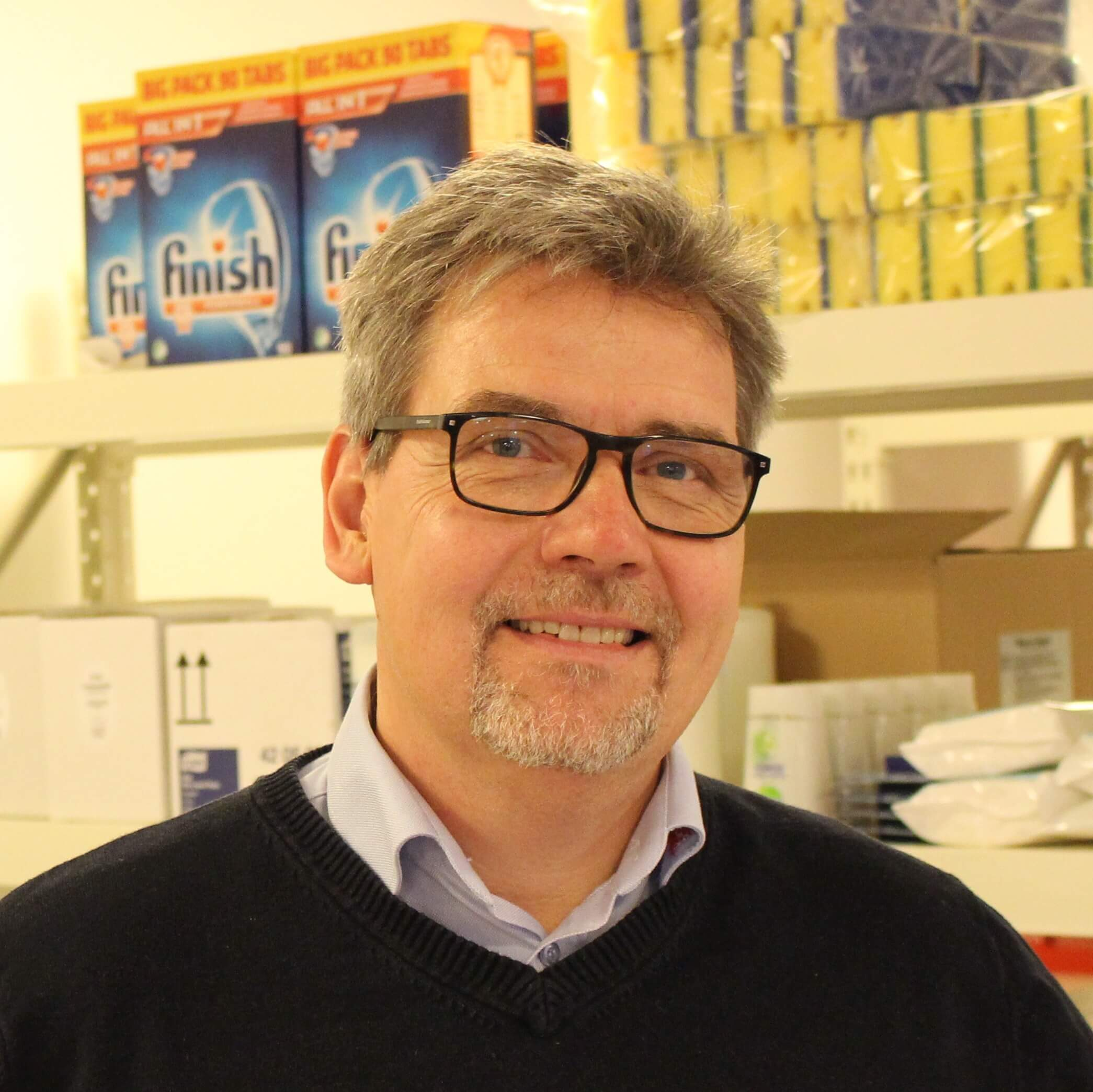 Allan Nielsen, direktør hos Daseko Rengøring & Service ApS