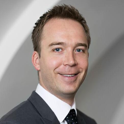 Jacob Barkfeld, jurist ved Danske Service