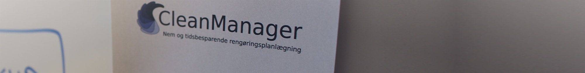CleanManager logo closeup