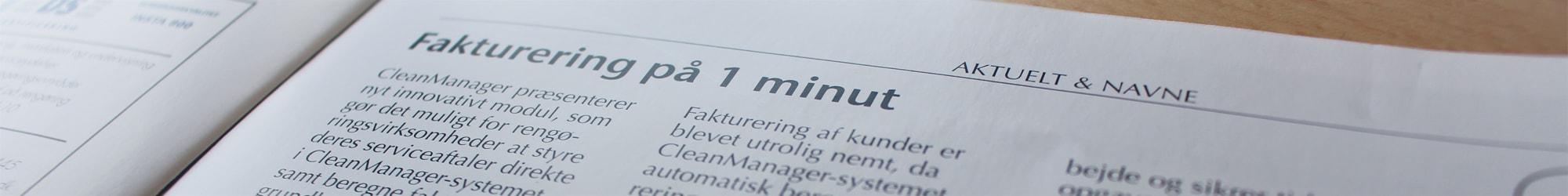 Artikel i Rent i Danmark closeup